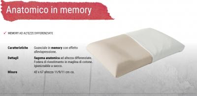 ΜΑΞΙΛΑΡΙ MEMORY ANATOMICO